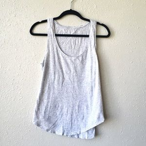 Light Grey Relaxed Old Navy Tank